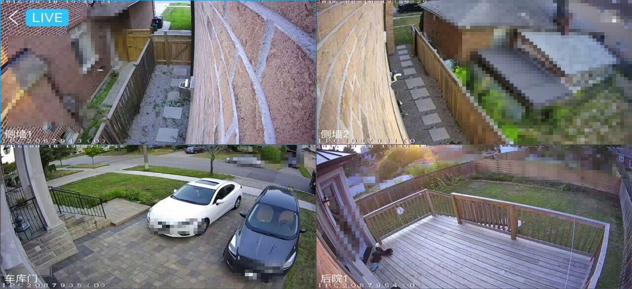 Surveillance Installation for 5000sqft Mansion